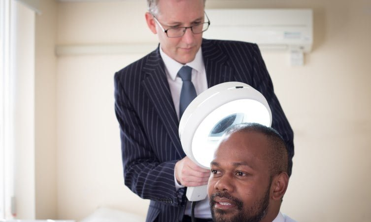 hair loss examination